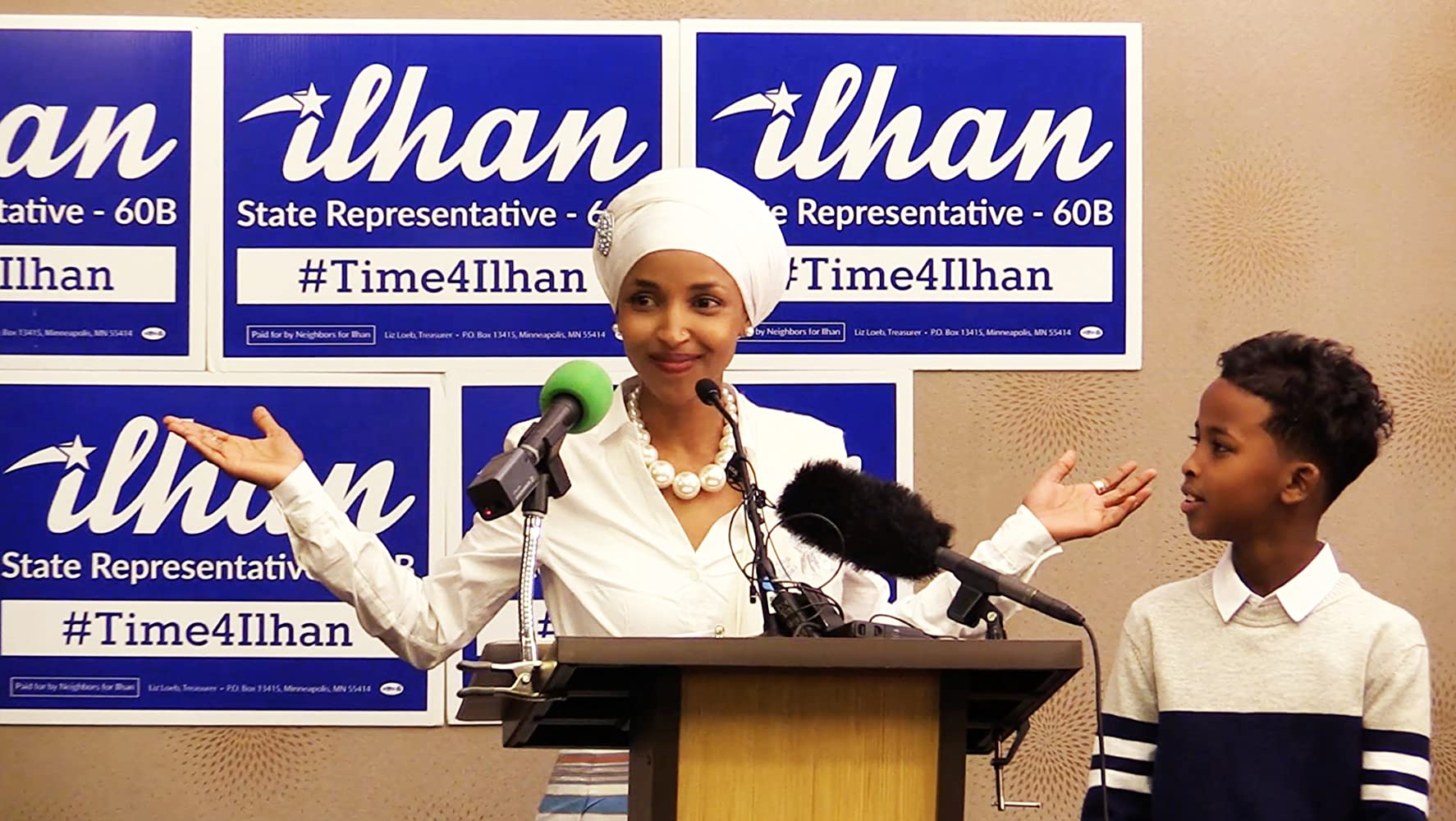Ilhan Omar in Time for Ilhan (2018)