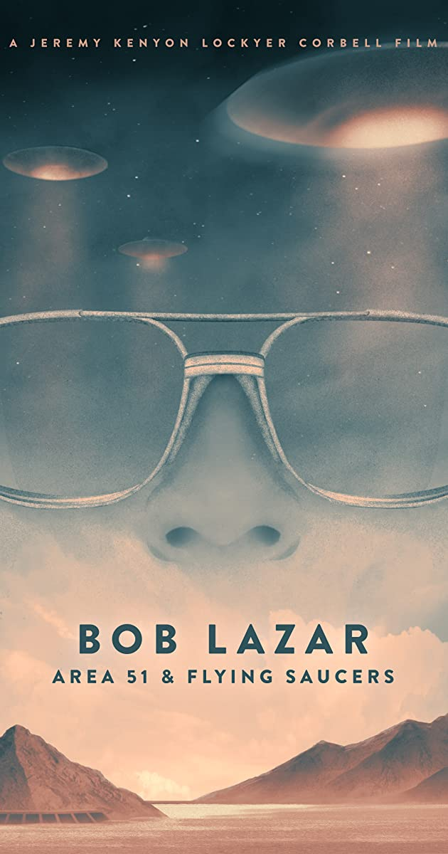 Subtitle of Bob Lazar: Area 51 & Flying Saucers