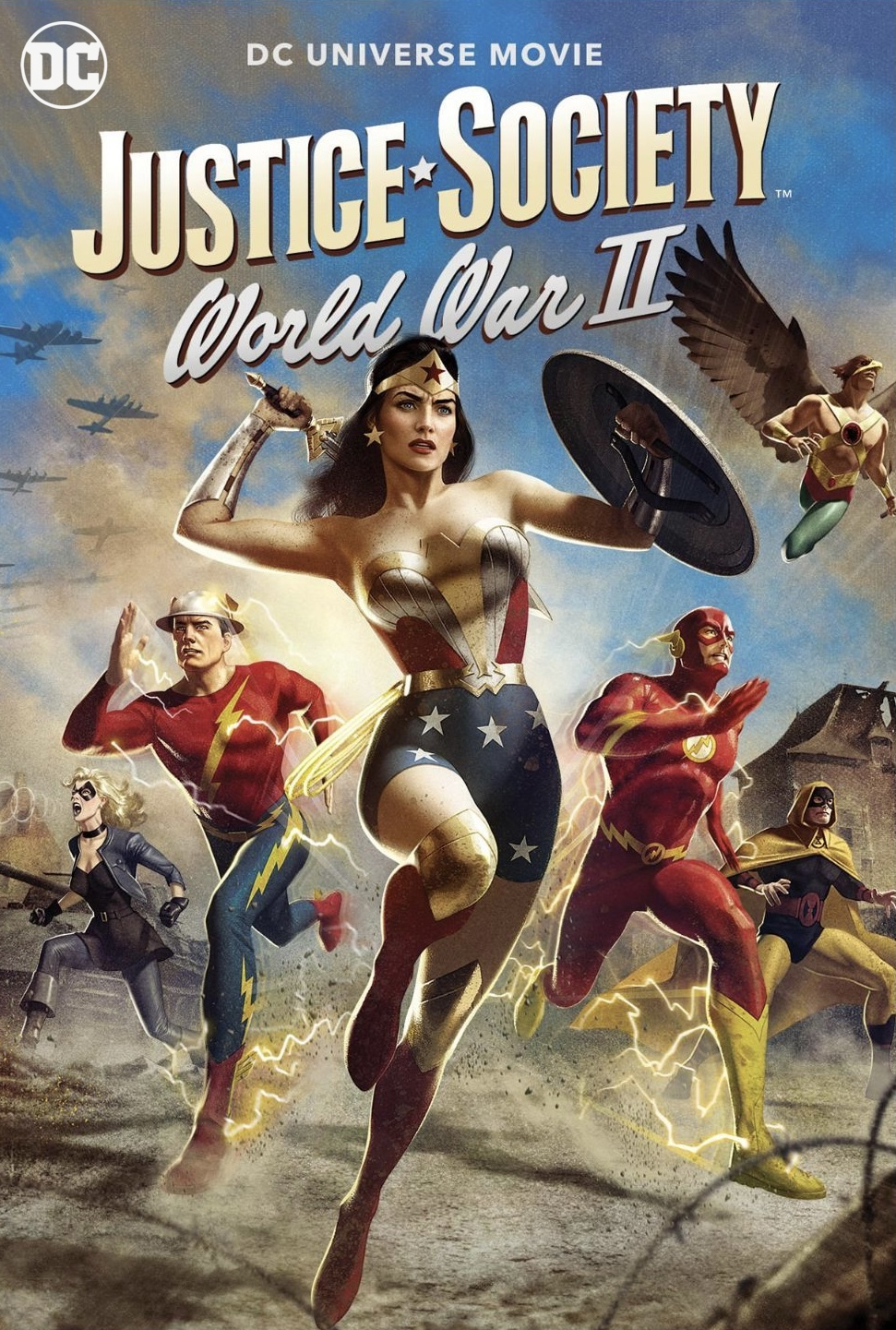 Justice Society World War II (2021) Full Movie [In English] With Hindi Subtitles | WebRip 720p [1XBET]