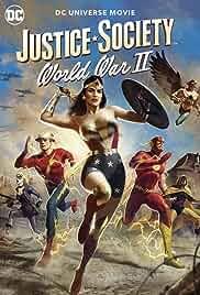 Justice Society: World War II (2021) HDRip English Full Movie Watch Online Free