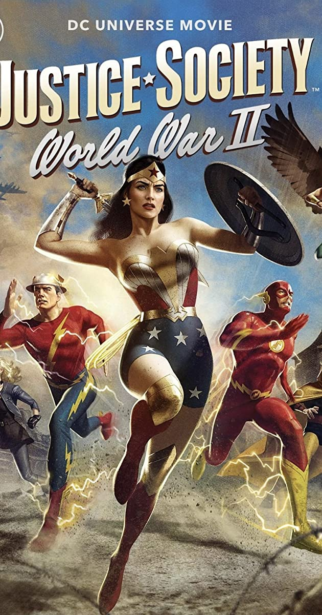 Free Download Justice Society: World War II Full Movie