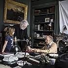 Jean-Louis Trintignant, Michael Haneke, and Fantine Harduin in Happy End (2017)