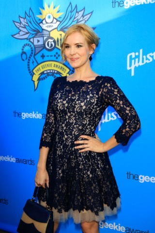 Brea Grant at The Geekie Awards 2014