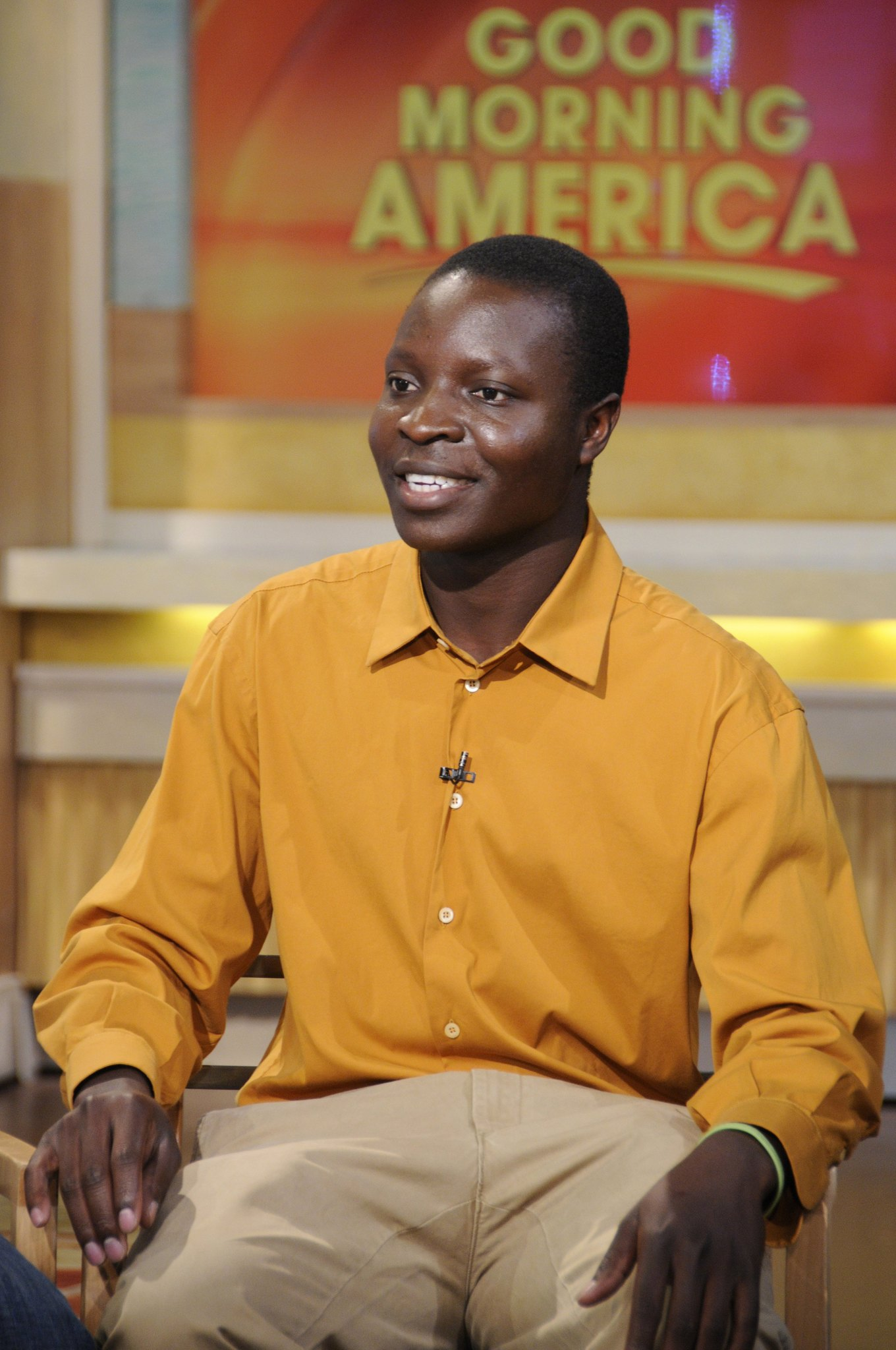 William Kamkwamba at an event for Good Morning America (1975)
