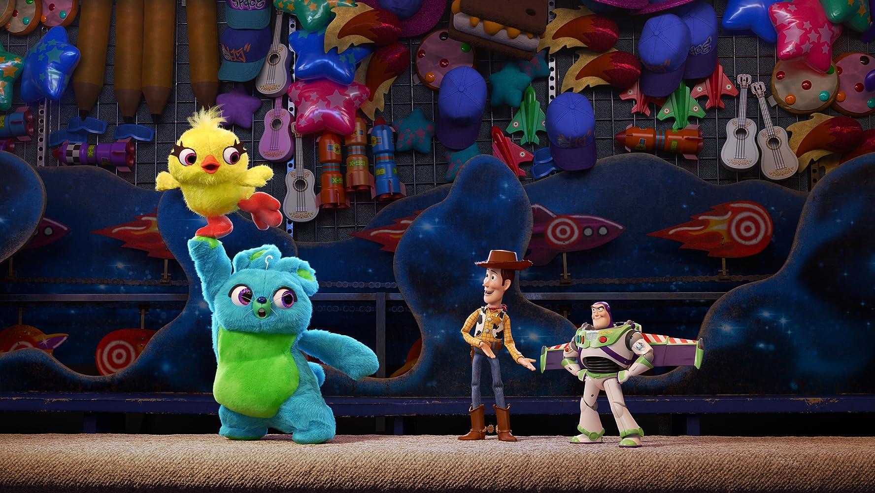 Tom Hanks, Tim Allen, Keegan-Michael Key, and Jordan Peele in Toy Story 4 (2019)