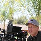 Director John Asher on the set of Tooken.