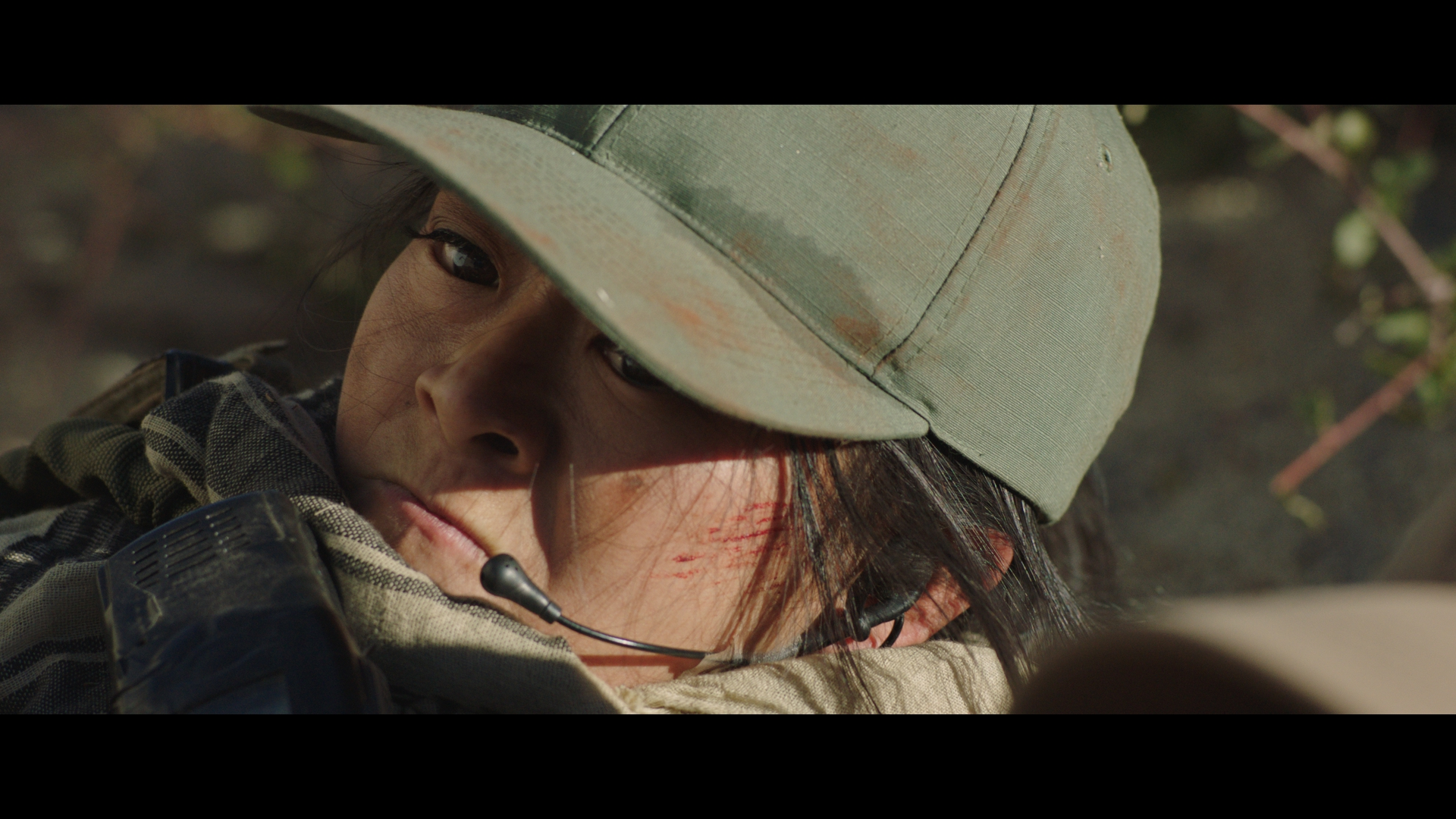 "Tango Down - Julia Ling as ""Samantha Salas"" in Marine Corps special operations team"