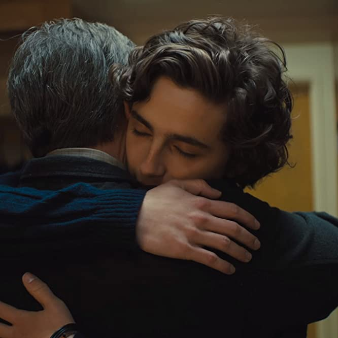 Steve Carell and Timothée Chalamet in Beautiful Boy (2018)