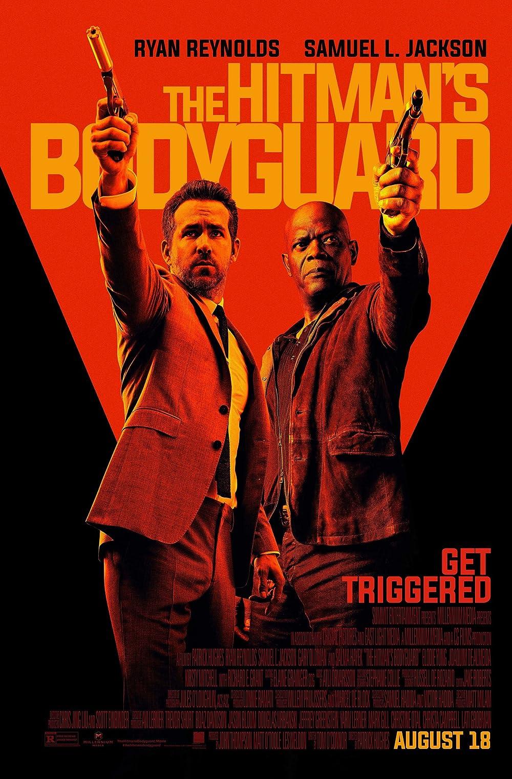 Poster film The Hitman's Bodyguard.