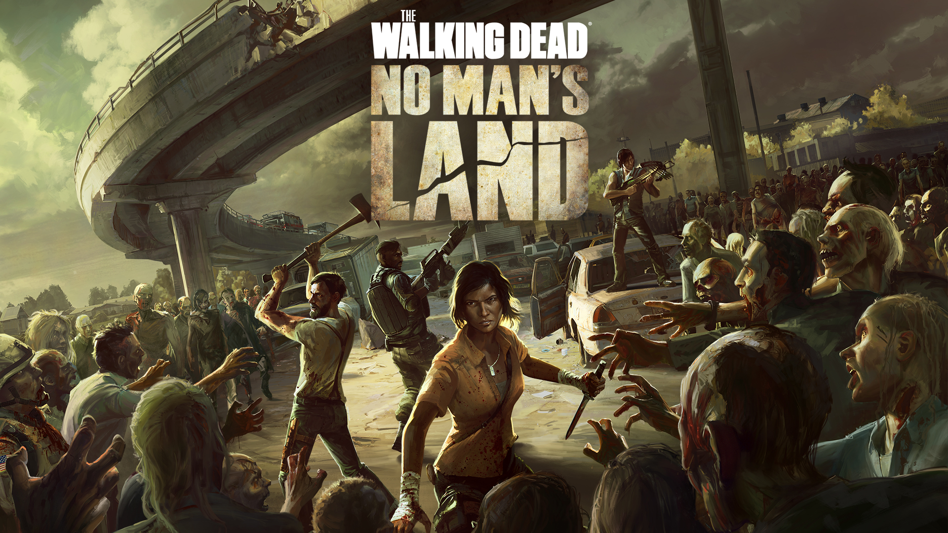 The Walking Dead No Mans Land Video Game 2015 Photo