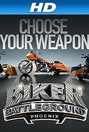Biker Battleground Phoenix Poster
