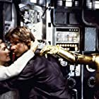 Harrison Ford, Anthony Daniels, and Carrie Fisher in Star Wars: Episode V - The Empire Strikes Back (1980)