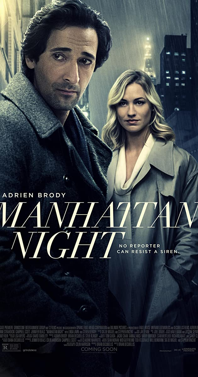 Watch Full HD Movie Manhattan Night (2016)