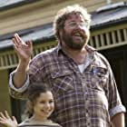 On set ... Coco Jack Gillies and Shane Jacobson are the human stars of Oddball