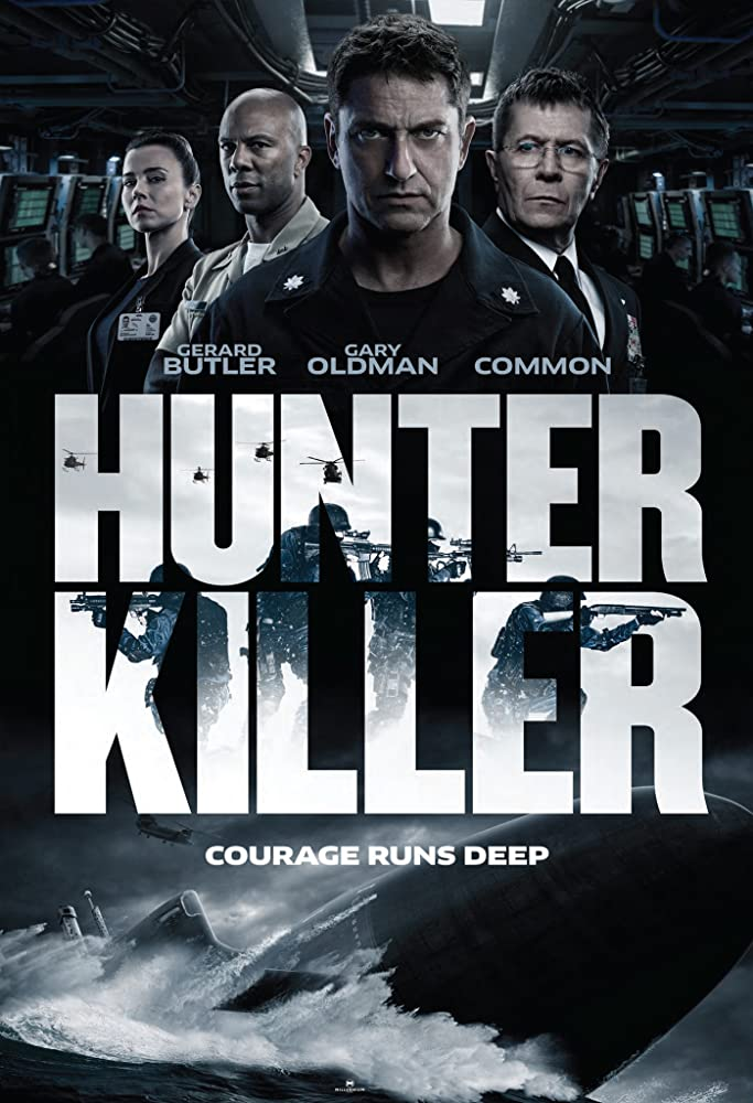 Image result for Hunter Killer 2018
