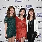 Jessy Hodges, Britt Lower, Erin Darke at 'Beside Still Waters' premiere in NYC