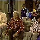Ami Foster, Susie Garrett, George Gaynes, and Cherie Johnson in Punky Brewster (1984)