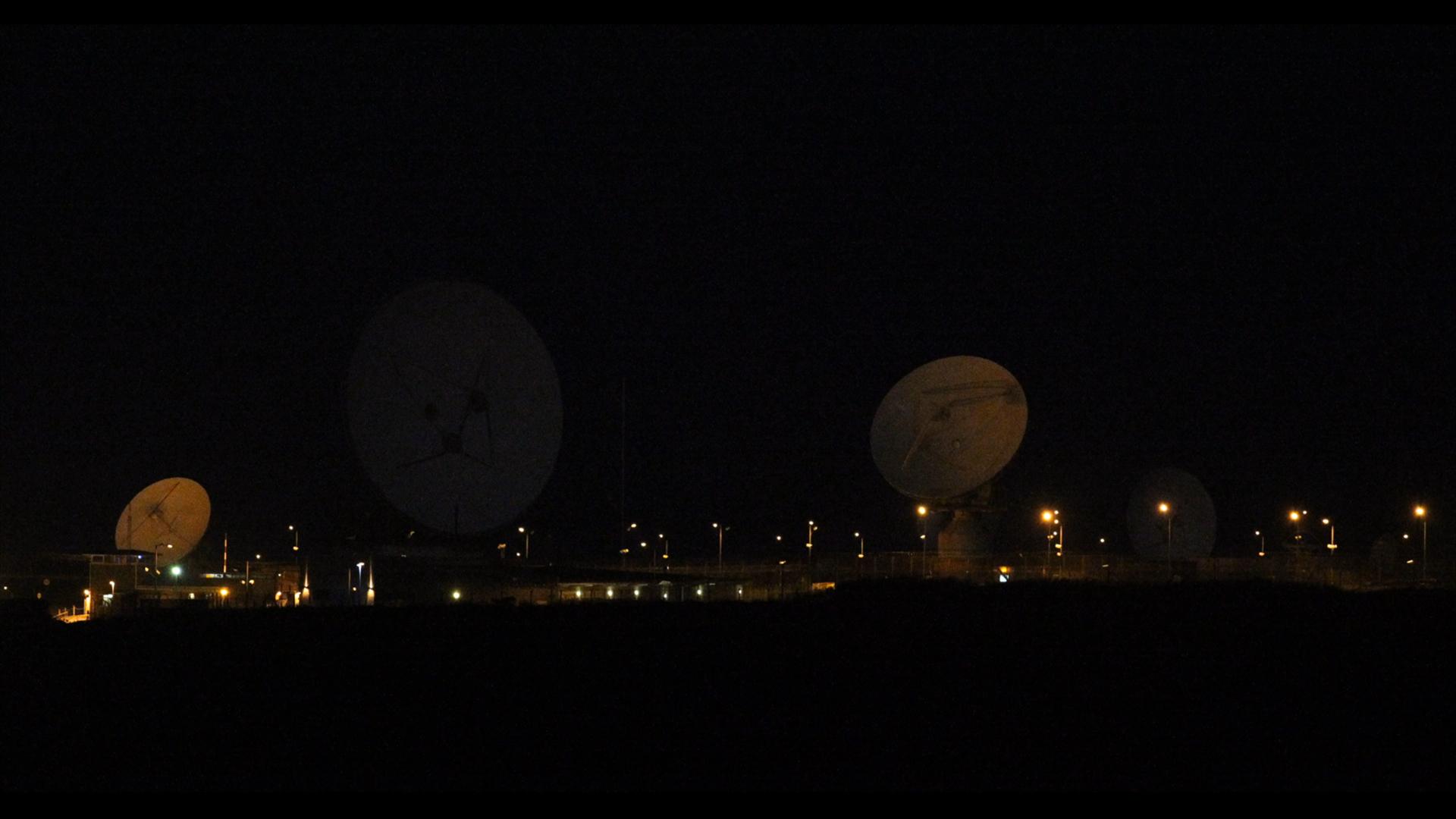 GCHQ satellites in Bude, England