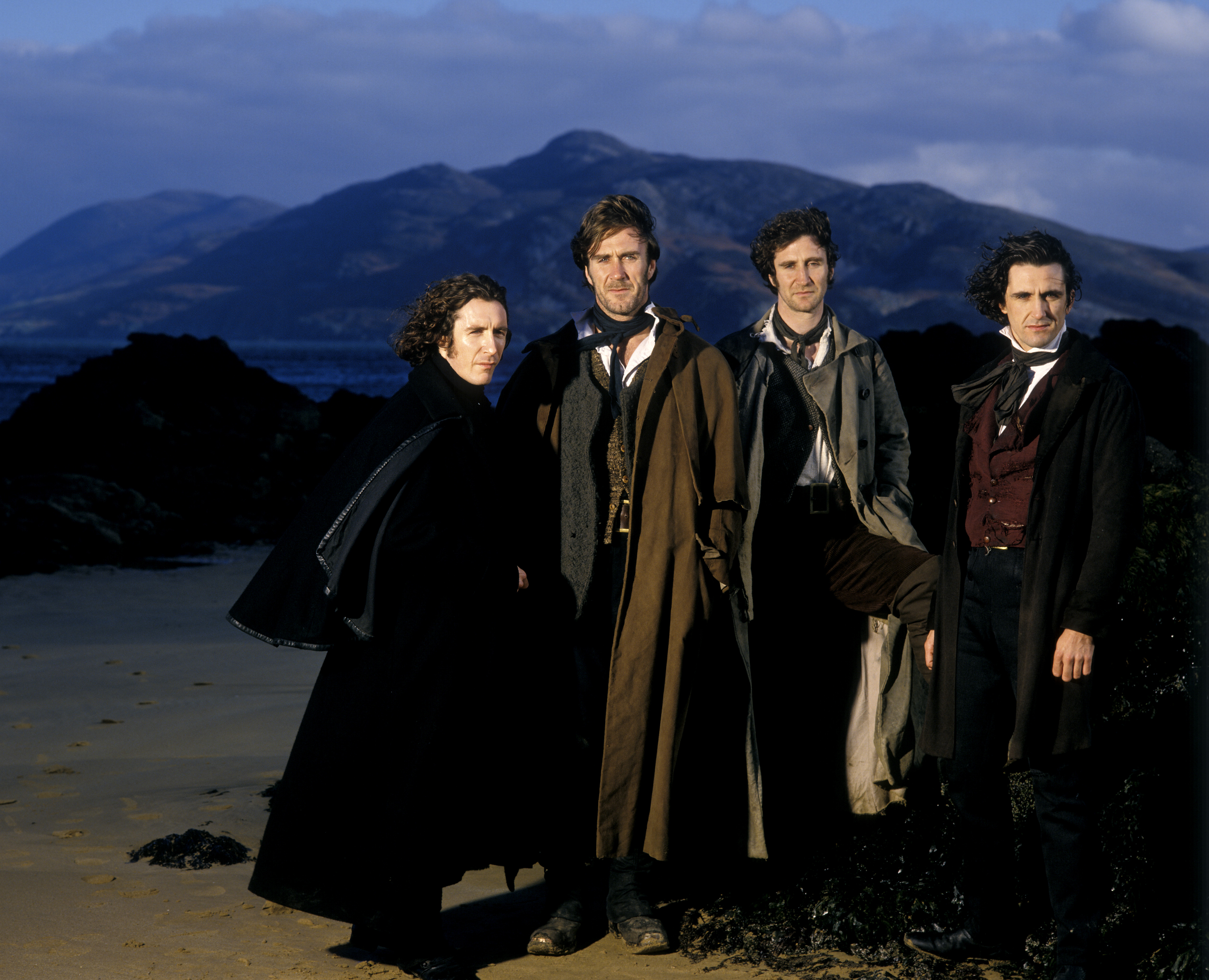 Paul McGann, Joe McGann, Mark McGann, and Stephen McGann in The Hanging Gale (1995)