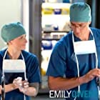 Mamie Gummer and Justin Hartley in Emily Owens M.D. (2012)