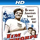 Burt Lancaster, Charles Bickford, and Phyllis Thaxter in Jim Thorpe -- All-American (1951)