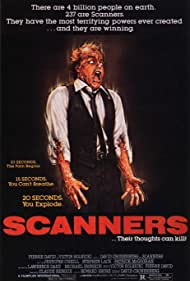 David Cronenberg, Michael Ironside, Patrick McGoohan, Howard Shore, Lawrence Dane, Stephen Lack, and Jennifer O'Neill in Scanners (1981)