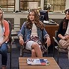Tiffani Thiessen, Paris Berelc, and Isabel May in Alexa & Katie (2018)
