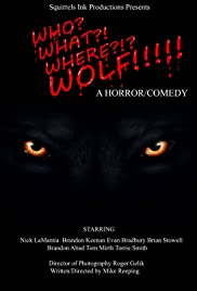 Who? What? Where? Wolf!!! Poster