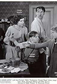 Georgie Billings, Adeline Craig, Gladys Hulette, and Helen Twelvetrees in One Hour Late (1934)