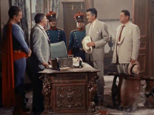 George Reeves, Donald Lawton, Jack Reitzen, and Robert Tafur in Adventures of Superman (1952)