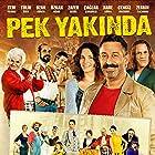 Zafer Algöz, Ozan Güven, Özkan Ugur, Cem Yilmaz, Zerrin Tekindor, Tülin Özen, Cengiz Bozkurt, Hare Sürel, and Çaglar Çorumlu in Pek Yakinda (2014)