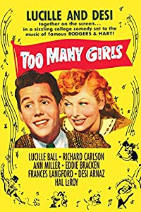 Bittorrent free movie downloads Too Many Girls by Alexander Hall [BDRip]