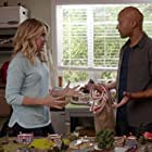 Jessica St. Clair and Keegan-Michael Key in Playing House (2014)