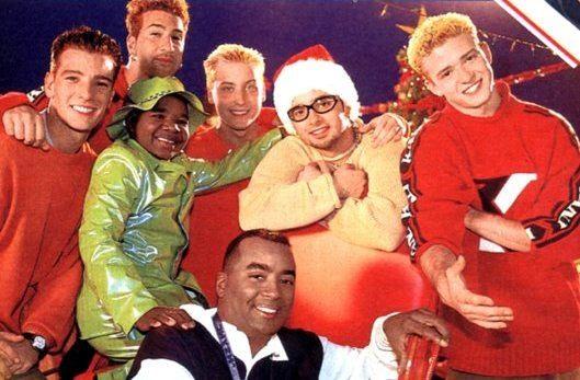 nsync merry christmas happy holidays 1998 - Merry Christmas Happy Holidays Nsync