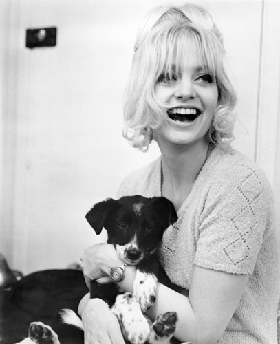 Goldie Hawn in There's a Girl in My Soup (1970)