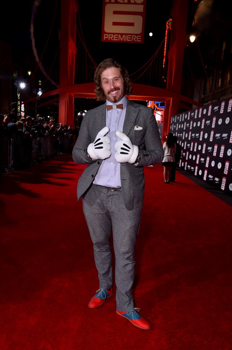 T.J. Miller at an event for Big Hero 6 (2014)