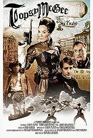 John de Lancie, Yuri Lowenthal, and Tara Platt in Topsy McGee vs. The Sky Pirates (2014)