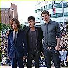 Josh Hartnett, Takuya Kimura, and Lee Byung-hun at an event for I Come with the Rain (2009)