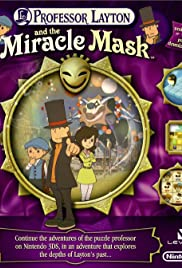 Professor Layton and the Miracle Mask Poster