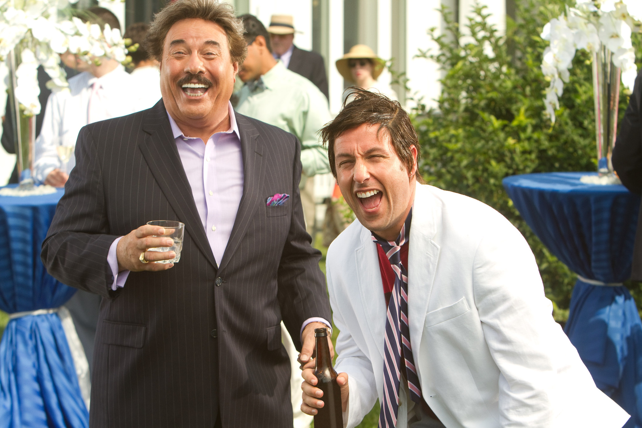 Adam Sandler and Tony Orlando in That's My Boy (2012)