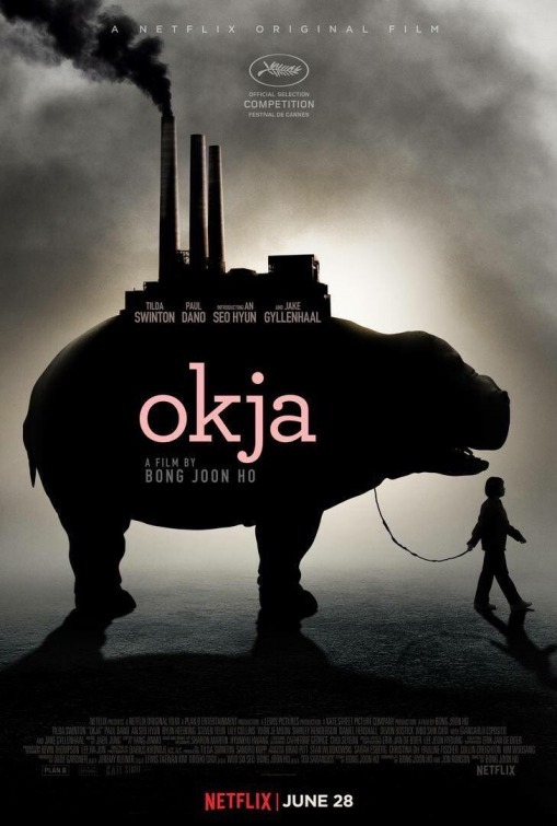 Okja 2017 Hindi ORG Dual Audio 720p NF HDRip ESubs 1055MB Download