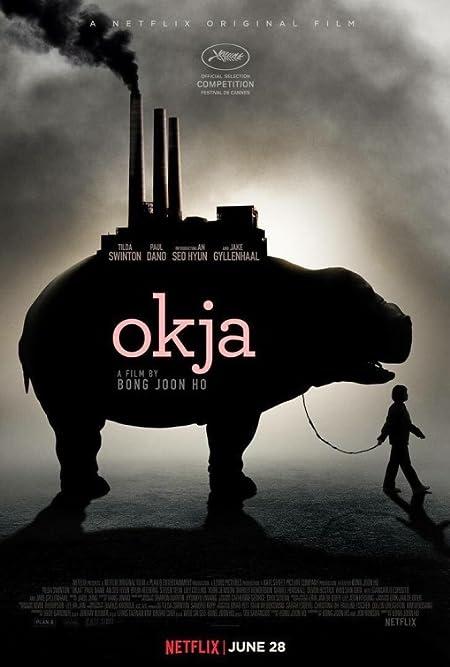 Okja (2017) Dual Audio Netflix WEB-DL - 480P | 720P - x264 - 400MB | 1.1GB - Download & Watch Online  Movie Poster - mlsbd