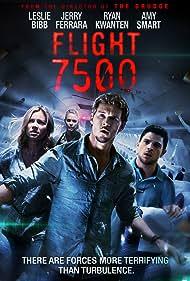 Leslie Bibb, Amy Smart, Ryan Kwanten, and Jerry Ferrara in Flight 7500 (2014)