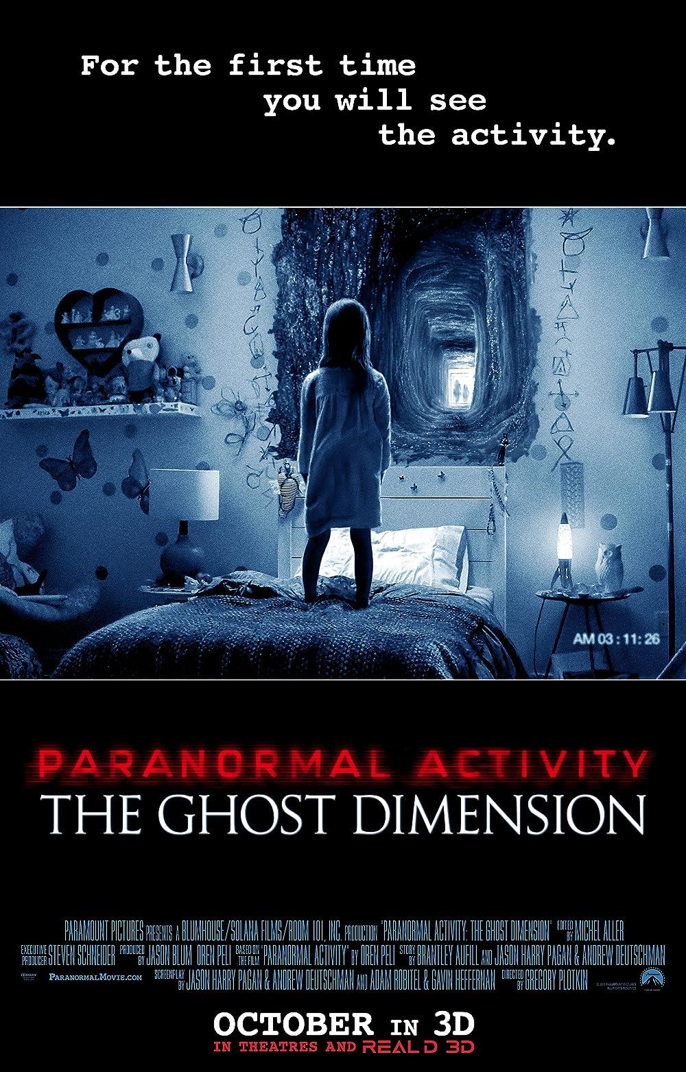Assistir grátis Atividade Paranormal 7 Online sem proteção