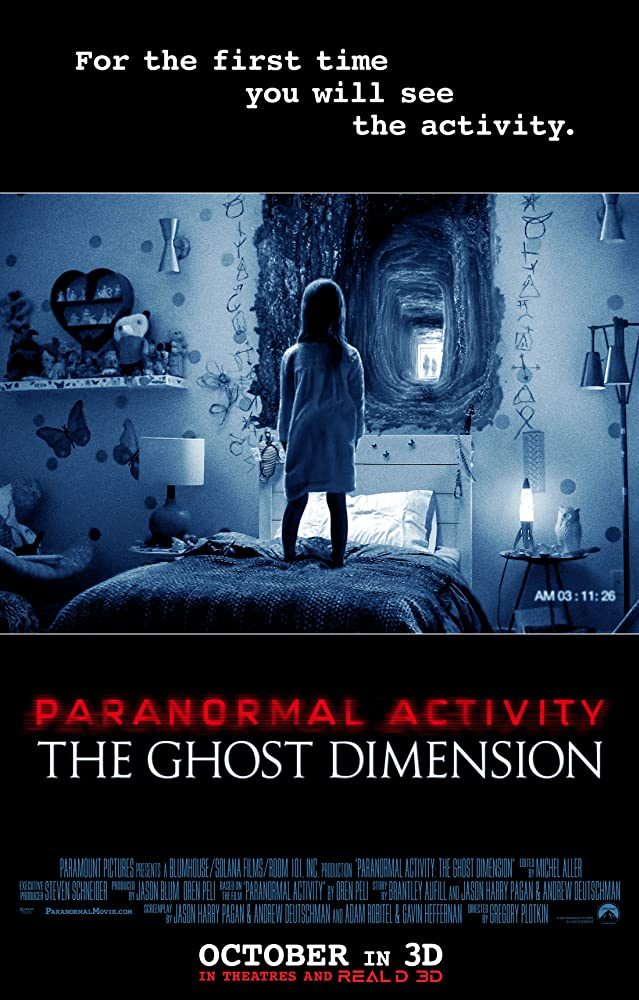Paranormal Activity: The Ghost Dimension (2015) Hindi Dubbed