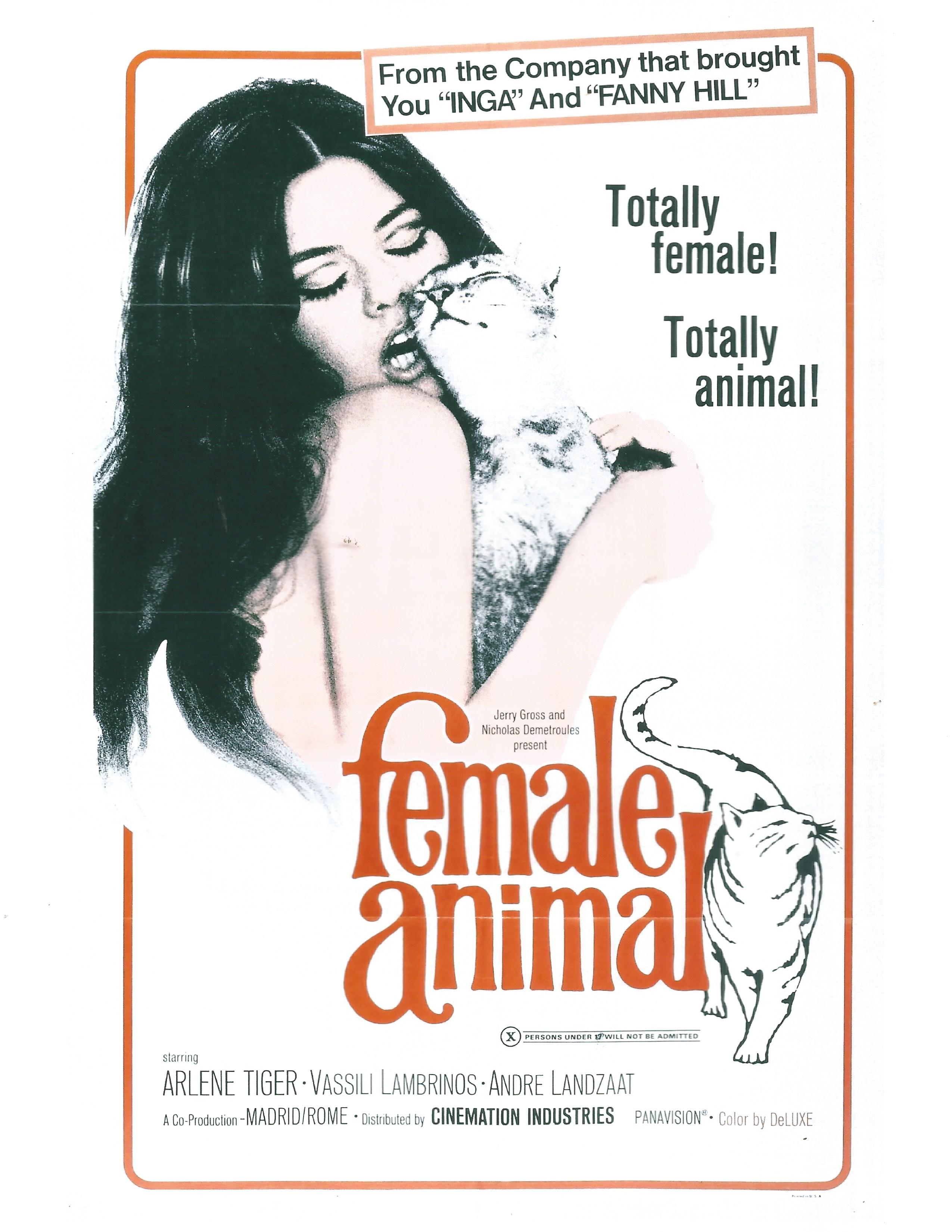 Female Animal 1970