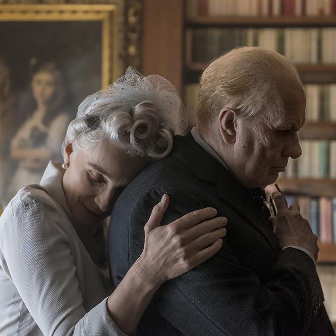 Gary Oldman and Kristin Scott Thomas in Darkest Hour (2017)