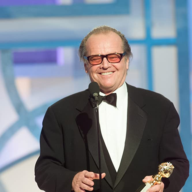 Jack Nicholson at an event for The 60th Annual Golden Globe Awards (2003)