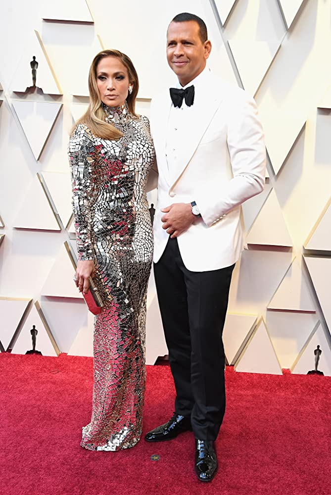 Jennifer Lopez and Alex Rodriguez at an event for The Oscars (2019)