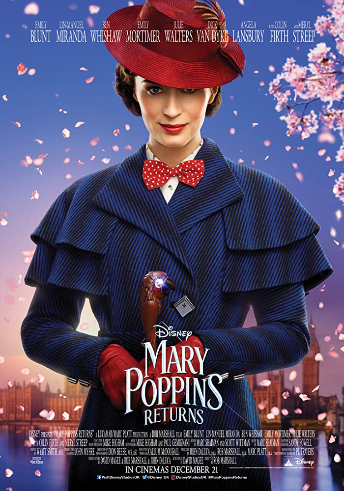 Film Le Retour de Mary Poppins (2019) Streaming VF Complet